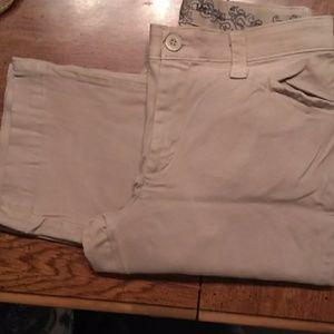 "Lee comfort waistband pants inseam 32"""